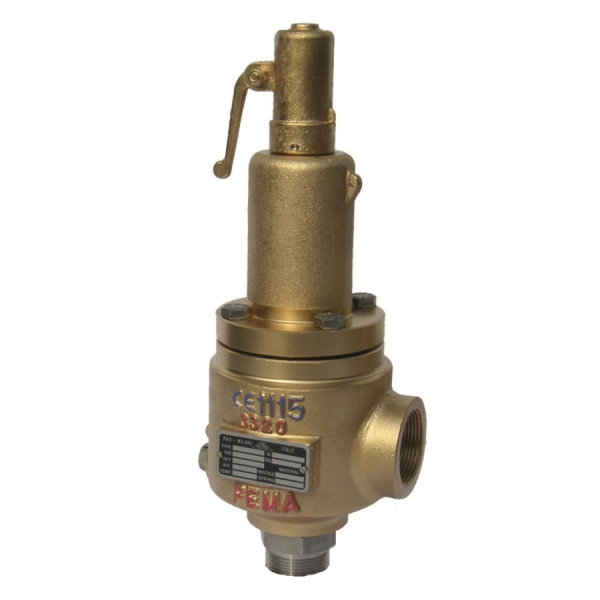 S3300 | Angle cryogenic safety valve